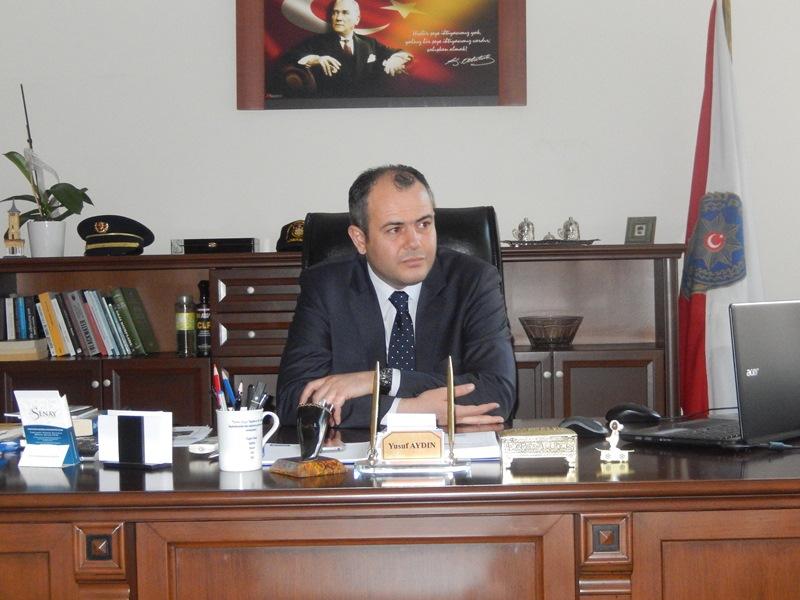 Derince İlçe Emniyet Müdürü Yusuf Aydın
