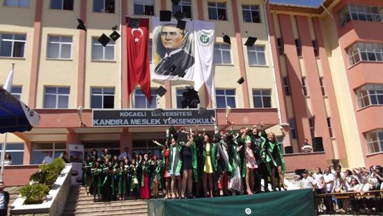 Kandıra Meslek Yüksek Okulu Mezuniyet Töreni 2014