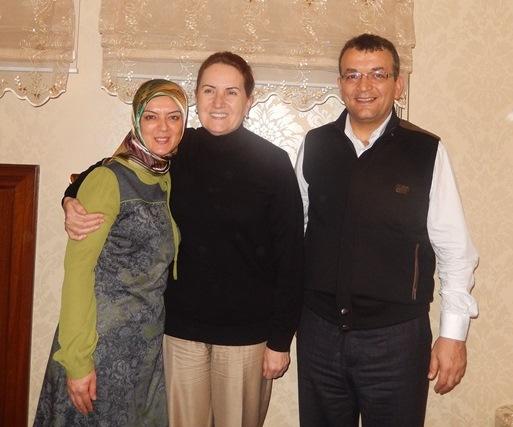 Emine Uzunhasanoğlu, TBMM Başkan Vekili Dr. Meral Akşener, Hasan Uzunhasanoğlu