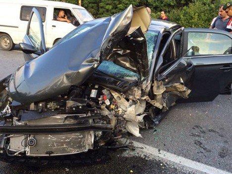 Kandıra Yolunda Kaza 6 Yaralı
