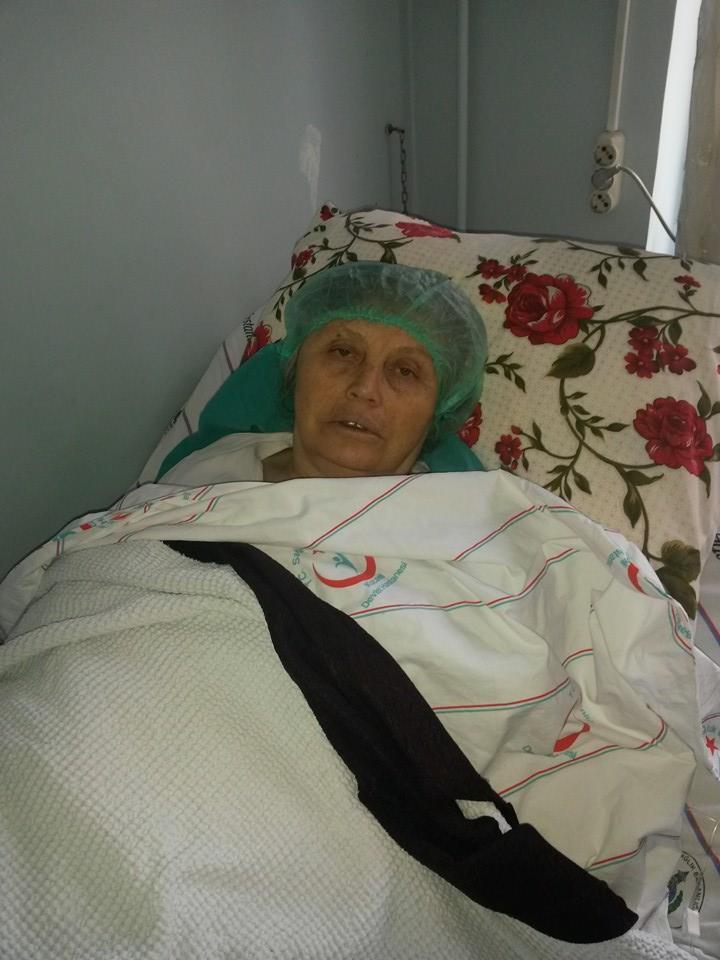 Nazmiye Özmen ameliyat oldu