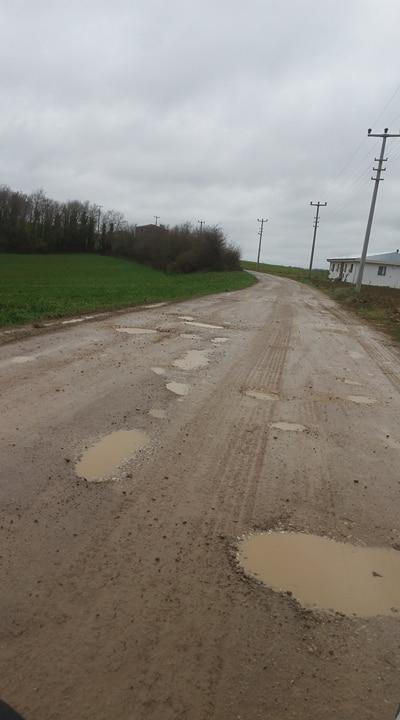 Köy Yolları Bozuk